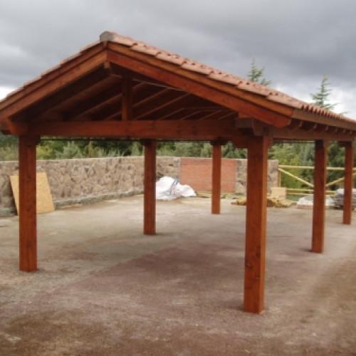 Cenadores de madera gallery of cenadores de madera with - Maderas moral ...